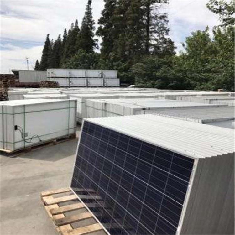 库存太阳能发电板回收 库存组件 工程剩余组件回收 聚纳光伏