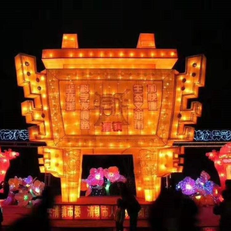 沫森彩灯制作大型花灯制作出售源头厂家