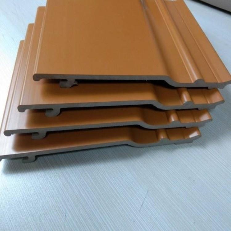 临沂厚泽外墙板厂家直销 PVC木塑外墙板 绿可木 ASA外墙专用板  150外墙木塑板