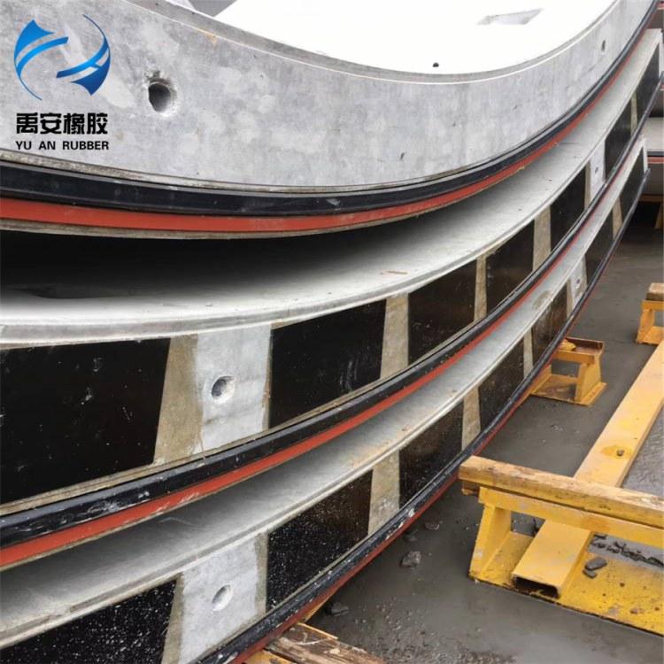地铁盾构管片弹性密封垫 复合膨胀橡胶条 地铁盾构管片用防水材料粘贴弹性密封垫