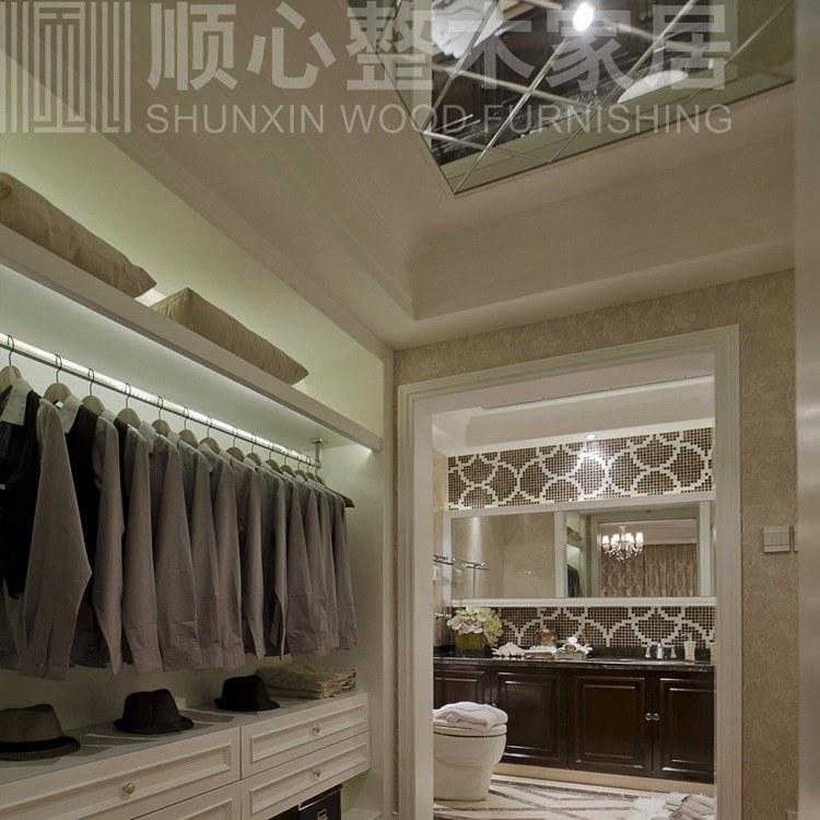 南京全屋定制衣柜衣帽间 超越索菲亚欧派的经典款式 现代极简风格年轻人装修选择南京顺心整木家居