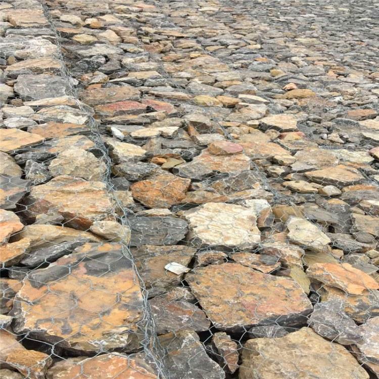 骏顺石笼网厂家定制河道电焊石笼网水利工程防洪格宾网边坡防护铅丝笼