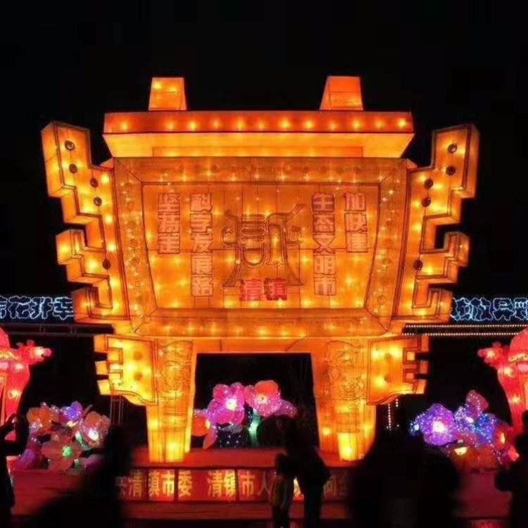 沫森彩灯制作大型花灯生产源头厂家