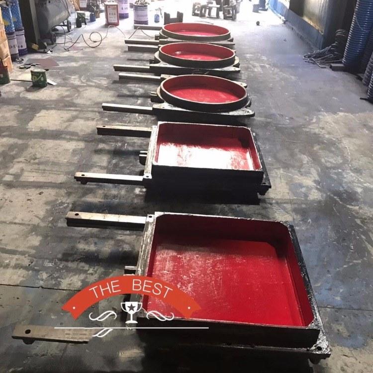 铸铁镶铜方闸门 ZMQF-0.1 DN200 DN300 海水清水污水专用闸门