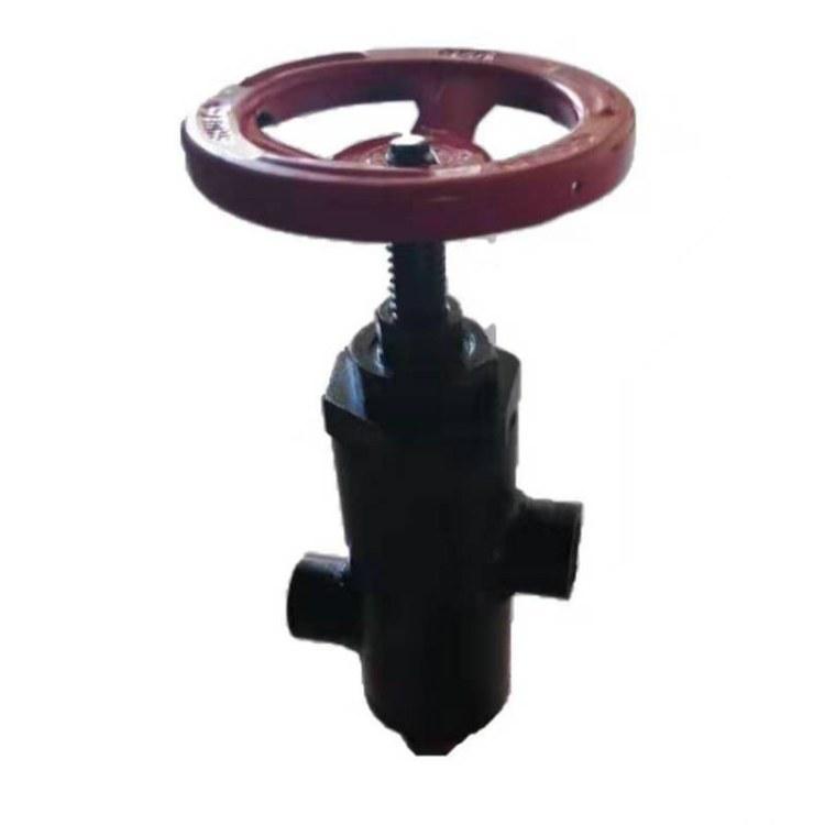 厂家定制国标焊接截止阀 角式法兰耐高温高压阀门