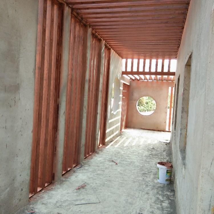 氟碳木纹漆施工  木纹漆厂家   水泥墙上做木纹漆