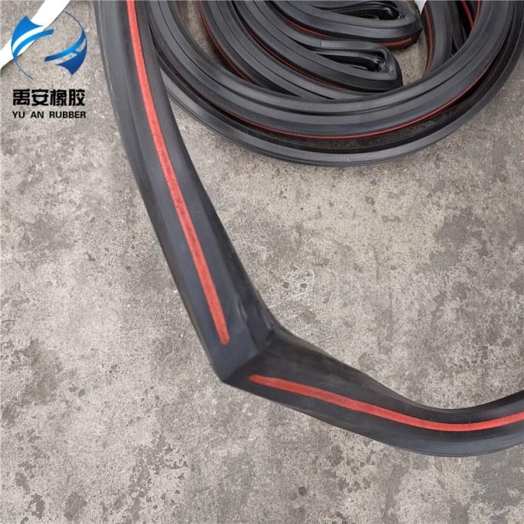 地铁盾构管片拼接防水密封条 盾构管片弹性密封垫 EPDM止水条