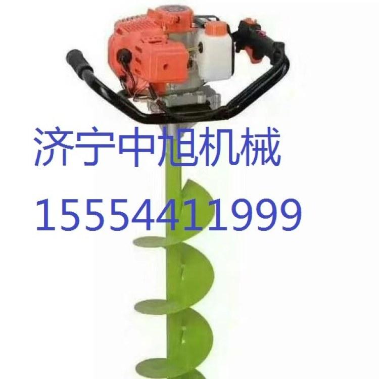 中旭便携式挖坑机   汽油钻穴机