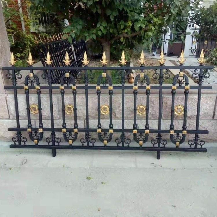 潍坊临朐厂家直销铝艺护栏阳台栏杆楼梯扶手自建房院子外墙围栏