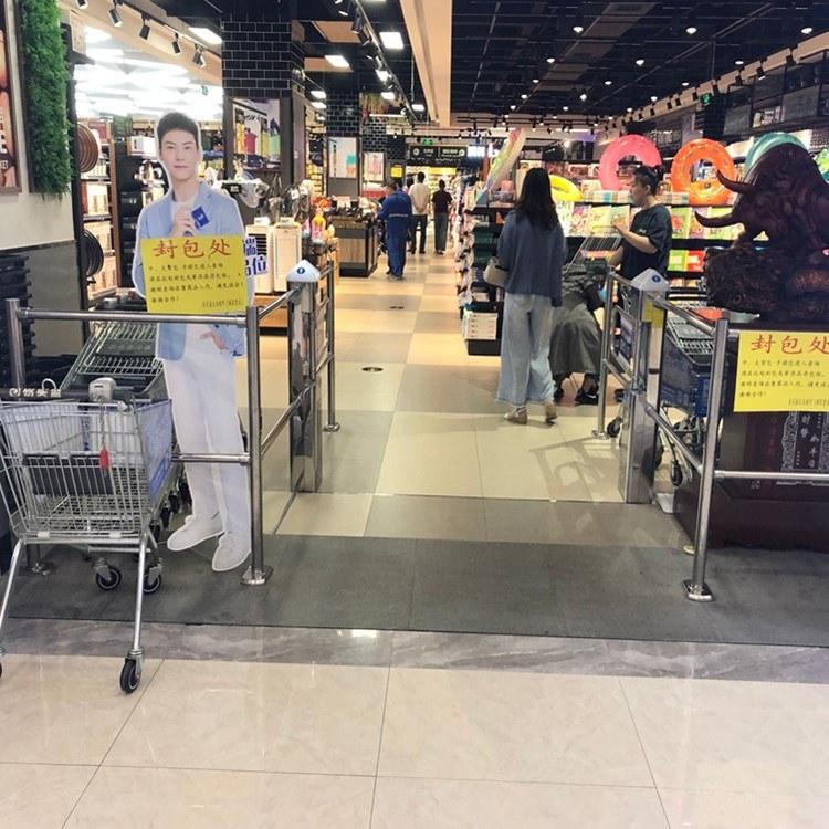南京双北商场摆闸定做 红外感应摆闸 南京摆闸生产厂家