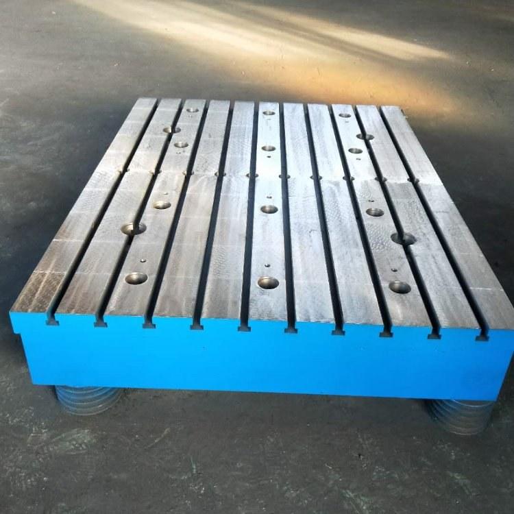 电机试验平台铸铁平台实验室试验台铁地板铸铁地板风电试验平台电机测试铸铁平台