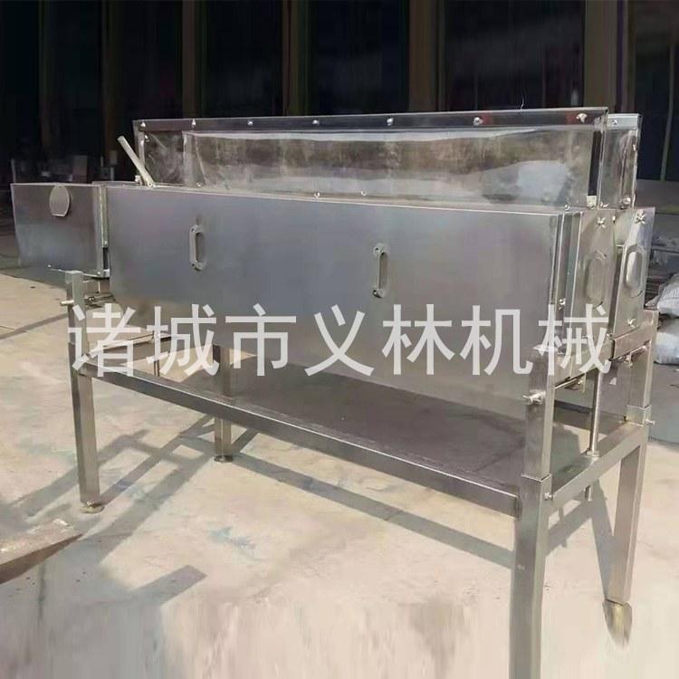 义林供应屠宰禽类头颈脱毛机价格 头颈脱毛机操作流程