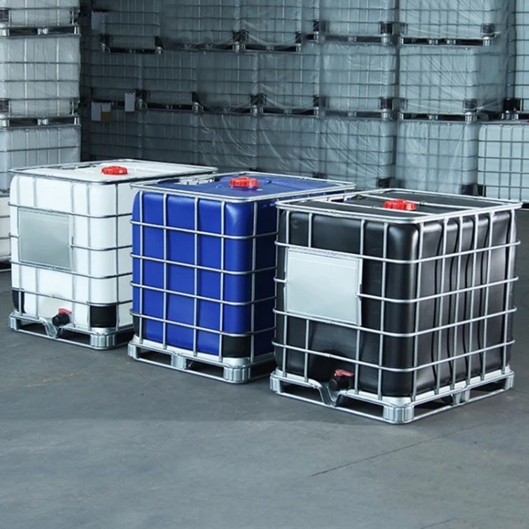 拥有完善体系的1000升塑料桶 1吨化工方桶 IBC塑料吨桶厂家