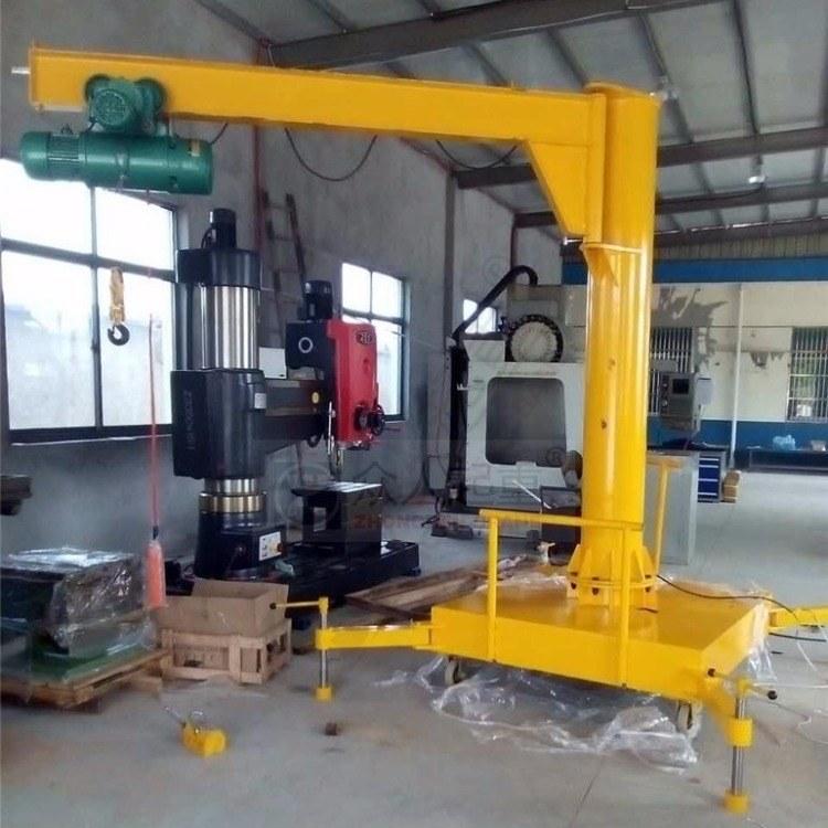 众人起重直供立柱式 遥控旋臂吊 悬臂吊起重机 1吨 2吨 立柱式旋臂吊 悬臂吊起重机