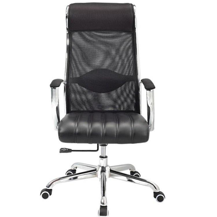 经理主管大班椅舒适人体工学转椅电脑椅办公椅老板椅网布透新款可升降职员工作椅