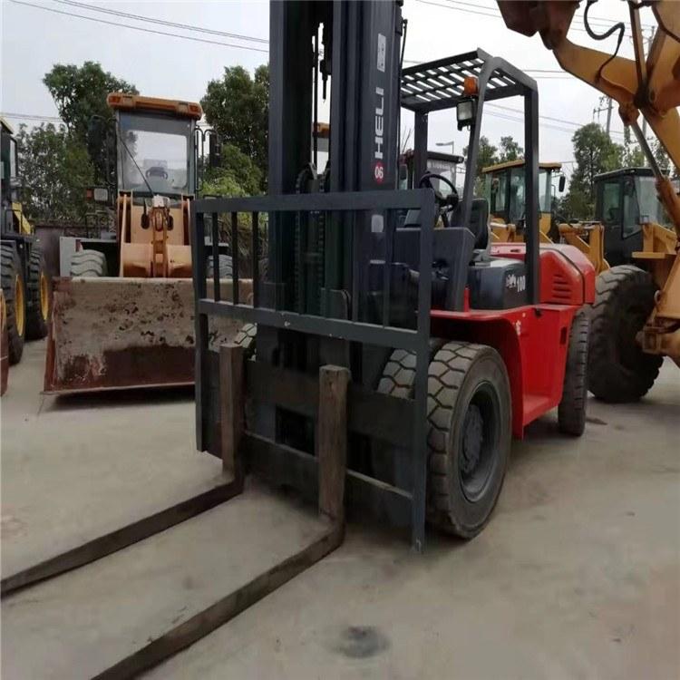 (上海签达)10吨叉车 二手叉车