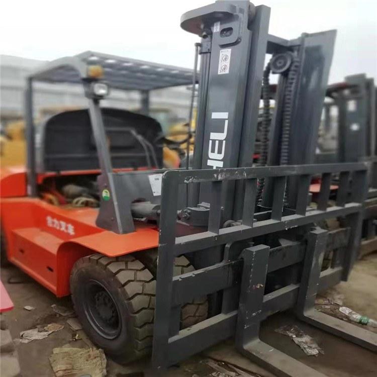 (上海签达) 8吨叉车 二手叉车
