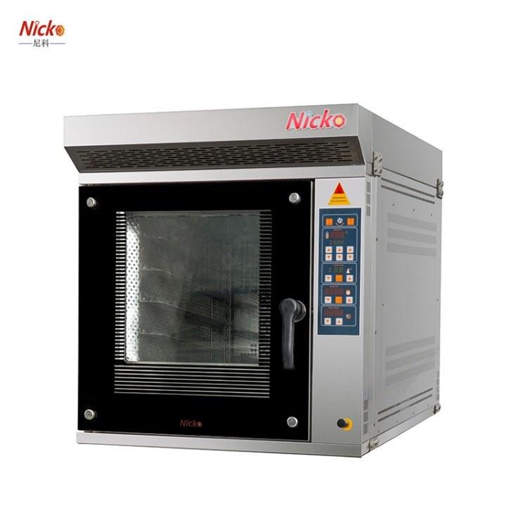 四盘热风循环炉商用 面包烘焙烤箱电 尼科厂家直销