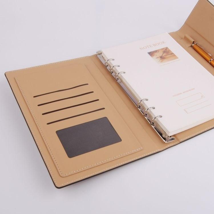 活页笔记本定制LOGO 活页记事本印刷 小清新笔记本生产厂家