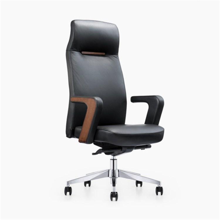 老板椅舒适大班椅新款简约时尚总裁经理转椅大气主管电脑椅家用办公椅会议椅