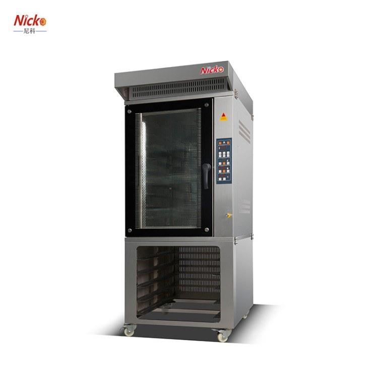燃气热风炉设备 热风循环烤炉 尼科专业烘焙设备