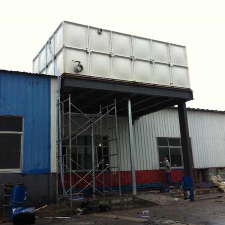 德森专业定做  玻璃钢食等级无菌水箱  不锈钢消防组合水箱 中水回收储水池厂家