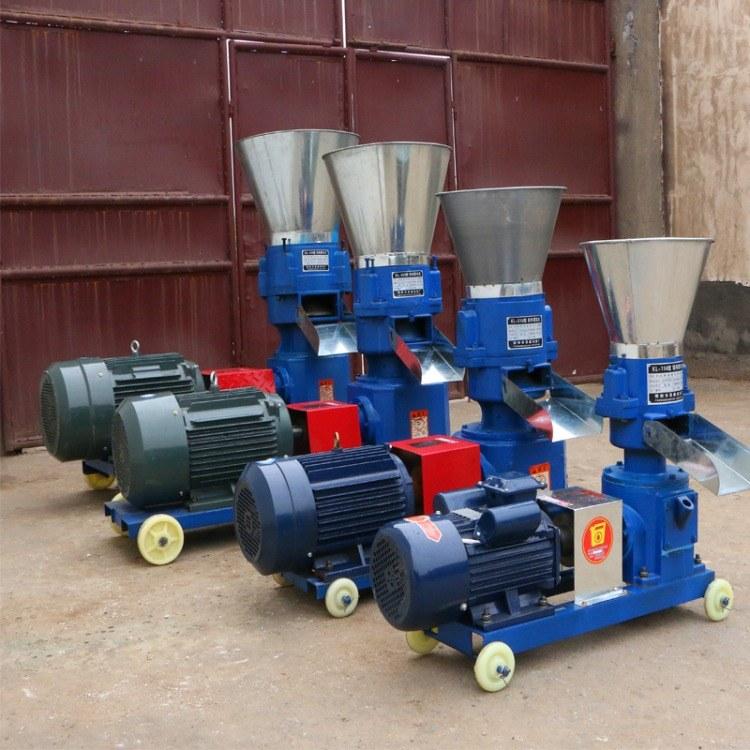 打饲料的颗粒机 鸡牛羊制粒机 木屑饲料造粒机厂家