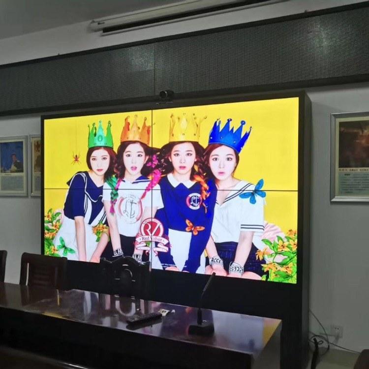三星原装65寸液晶拼接屏 4K画面3.5mm拼缝 适用于会议室 餐厅 监控 酒吧 全国上门安装