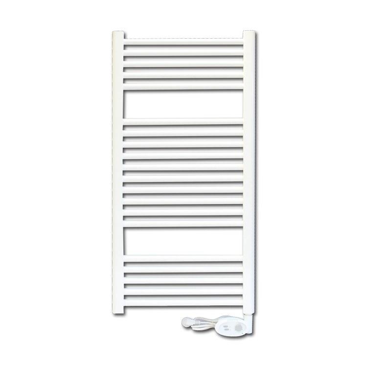 平板卫浴 卫生间烘干架浴室浴巾架电加热智能温控壁挂式置物架暖气片散热器