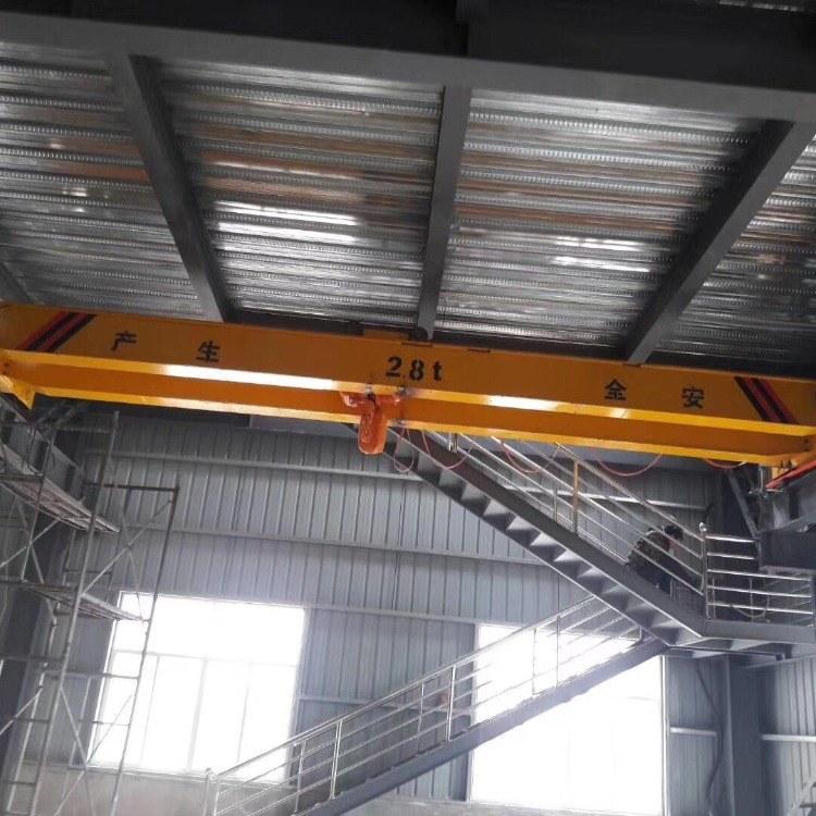 河南欧标电动单梁限高悬挂起重机厂家