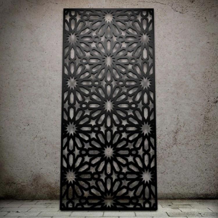 仿古镂空铝单板 筑耀幕墙镂空铝单板吊顶工艺 厂家直销 免费送样