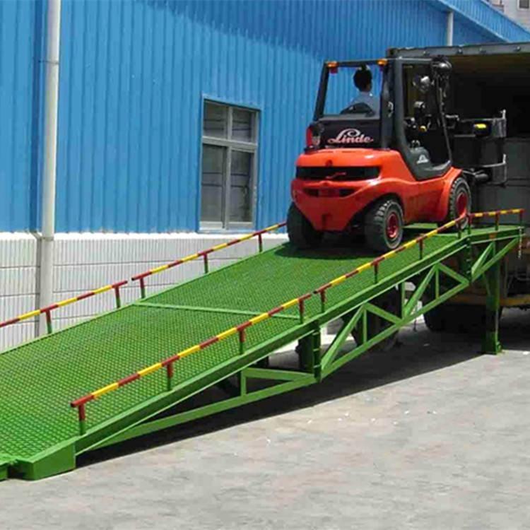 登车桥-亚林直销5吨 6吨 8吨物流装卸货登车桥 宽度2米 3米月台卸货平台