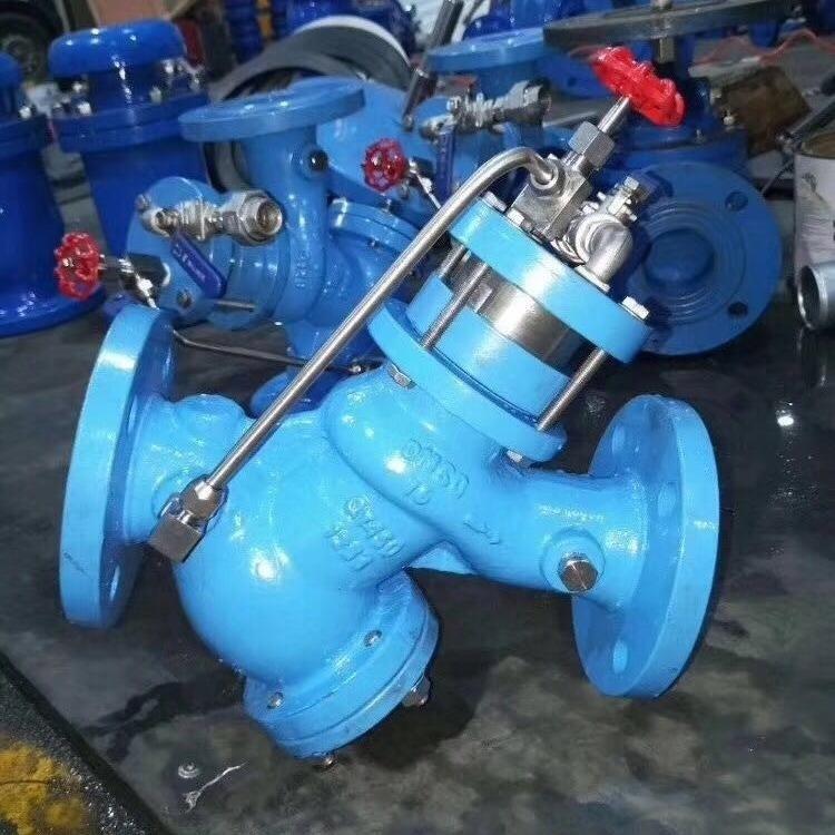 旭森阀门专业生产YQ98001过滤活塞式可调减压阀 可调式减压阀 水力控制阀 厂家直销