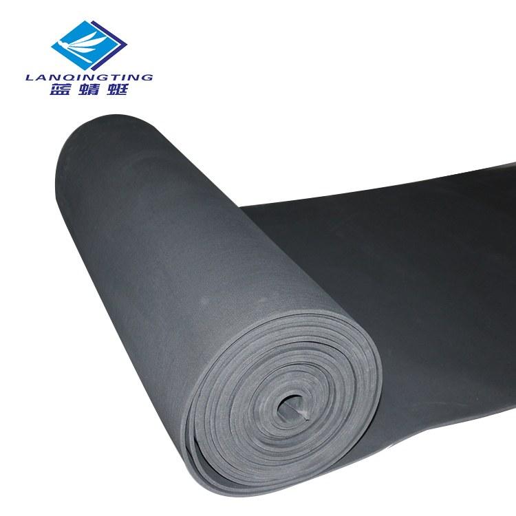 供应优质海绵橡胶板减震密封隔热隔音双面布纹发泡橡胶板厂家直销