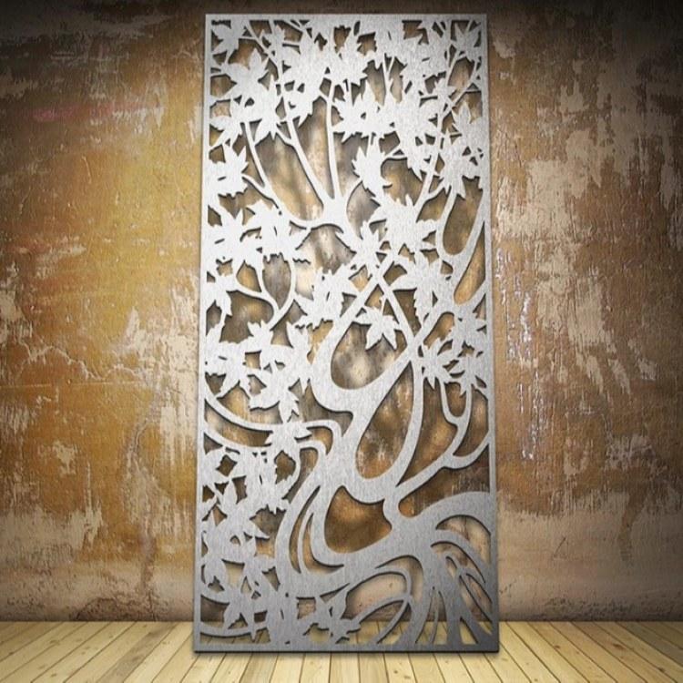 雕花镂空铝单板屏风 筑耀幕墙艺术镂空氟碳铝单板报价 厂家直销 免费送样