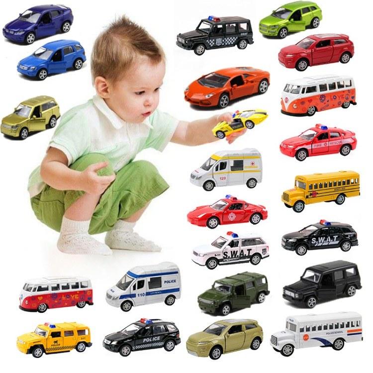 跨境建元1:64合金车模校车巴士迷你回力仿真Q版 儿童玩具汽车模型玩具厂批发