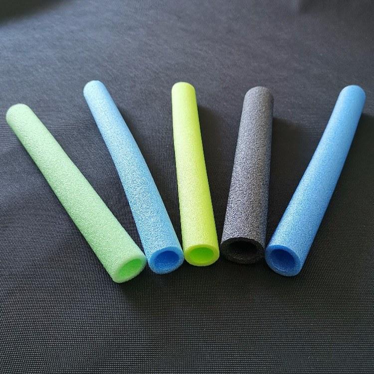 专业生产珍珠棉管棒防震抗摔 化妆品瓶盖保护棉管 物流包装 画框防护护角