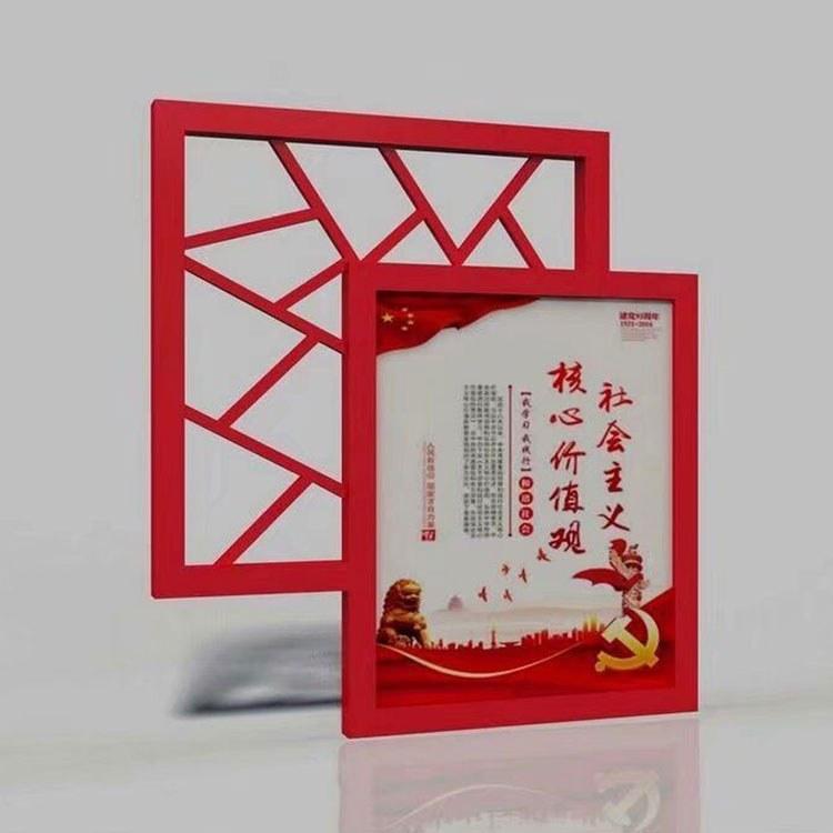 专业户外锦江区宣传栏价格   中媒宣传栏  党政青羊区公交站台工艺