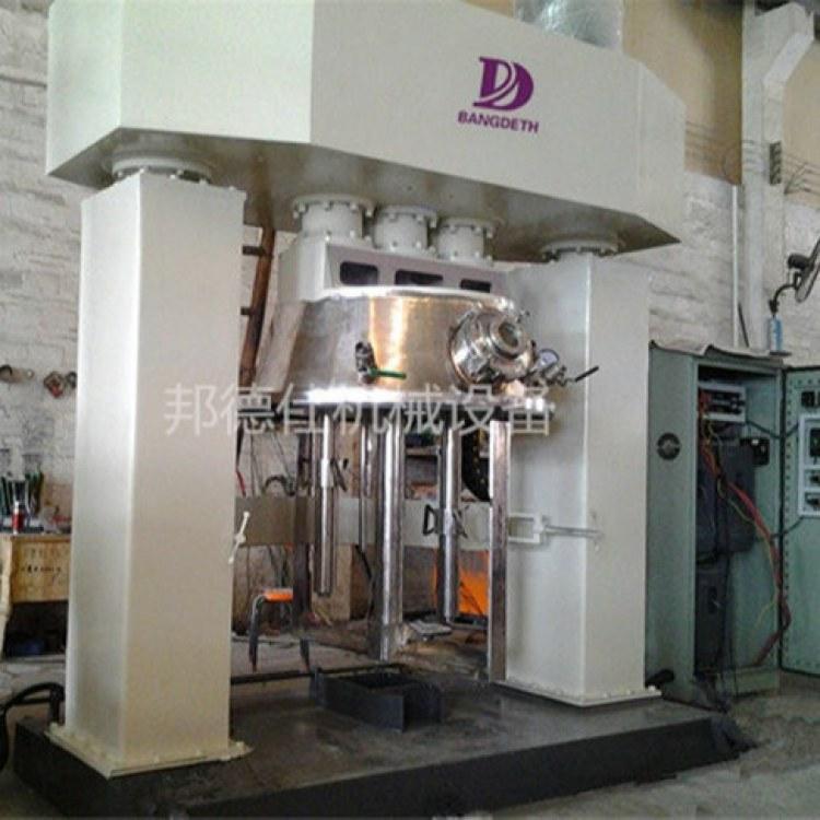 厂家供应300L真空强力分散机 中性硅酮玻璃胶生产设备