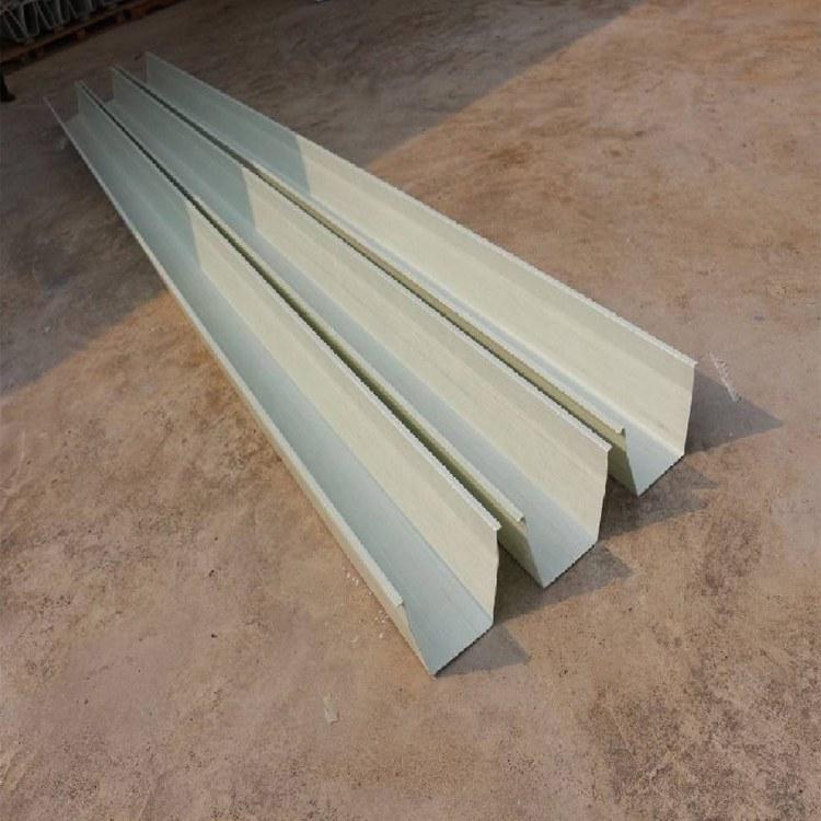 润佳玻璃钢厂家定制玻璃钢天沟frp水沟 集水槽 钢结构排水沟