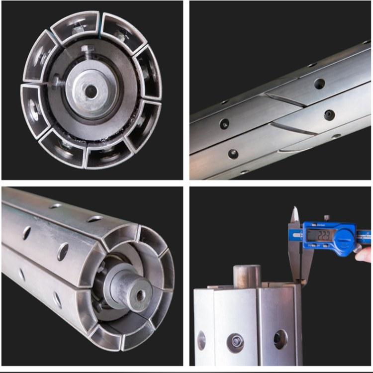 开幅辊  除皱辊 适用于分切复合涂层吹膜印染等设备  荣玖铝合金
