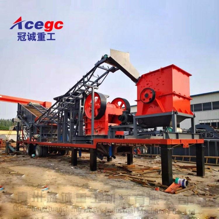 山东冠诚重工破碎制砂生产线GC-66006型号破碎制砂机械设备