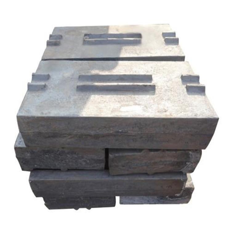 厂家直销反击式破碎机配件 高锰钢板锤 可定制