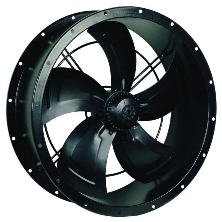厂家供应 350外转子轴流风机 网罩式轴流风机 低噪音制冰机风机