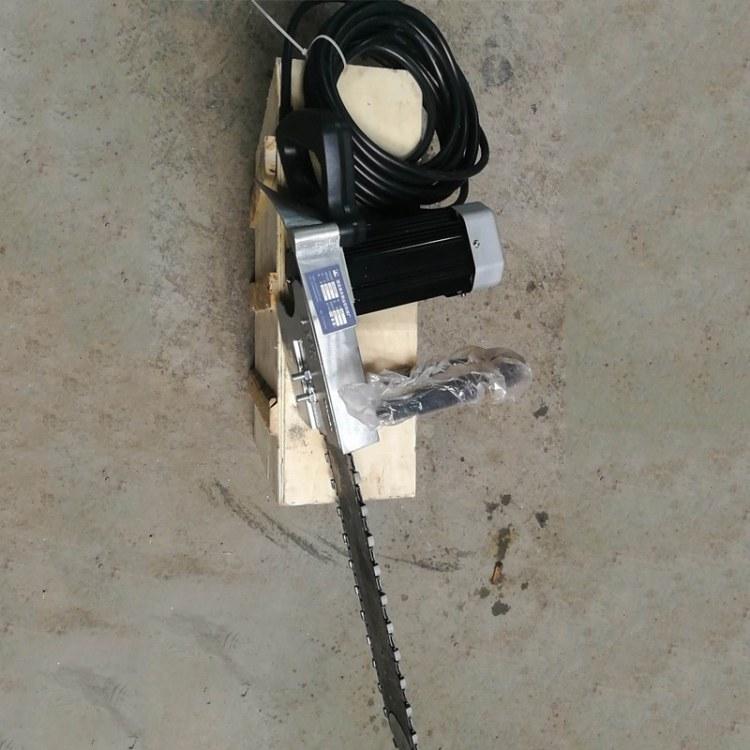 手持式岩石切割机 汽油金刚石链锯 钢筋混凝土链条锯 森泰报价