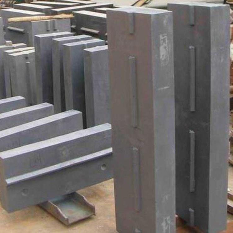 反击式破碎机配件生产厂家 高锰钢板锤 高铬板锤 可定制