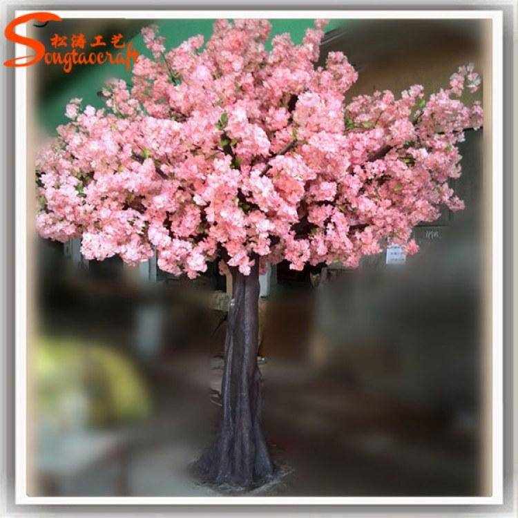 室外仿真树制造 仿真樱花树装饰 园林假大树假树制作公司