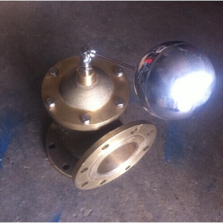 轩诚阀门厂专业生产  F745X遥控浮球阀  不锈钢防爆波阀