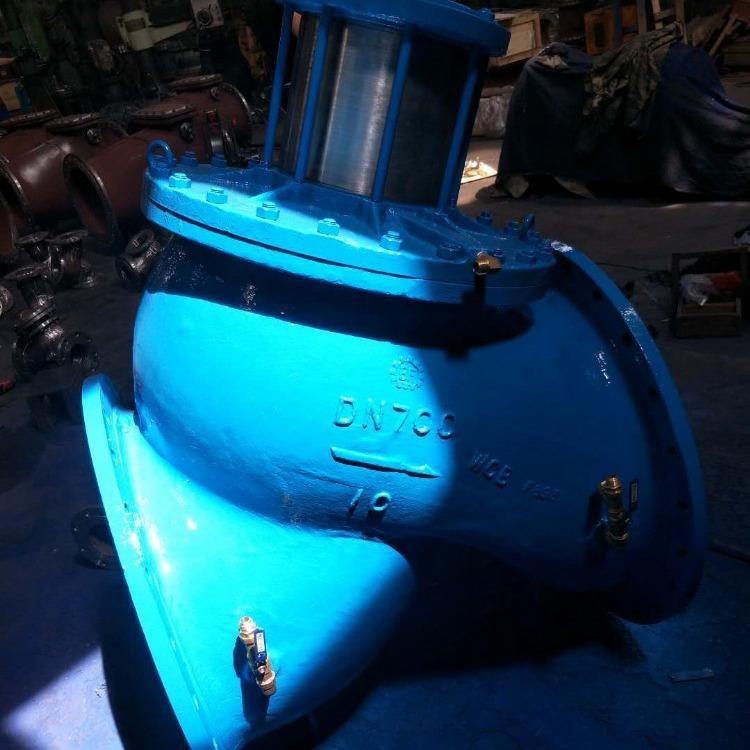 轩诚阀门厂专业生产  HH47X缓闭止回阀  不锈钢多功能水泵控制阀
