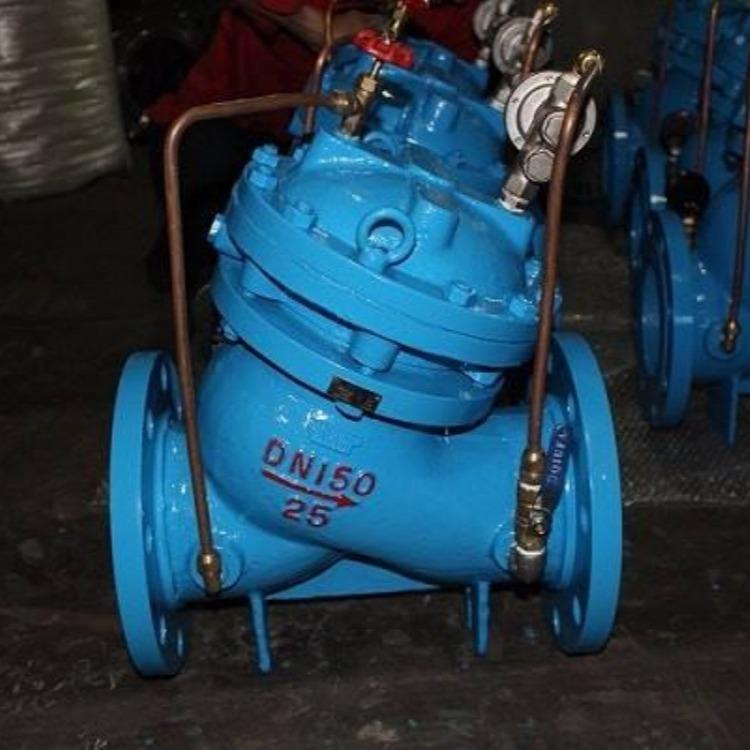 轩诚阀门厂专业生产  FA49H防爆波阀  不锈钢液压水位控制阀